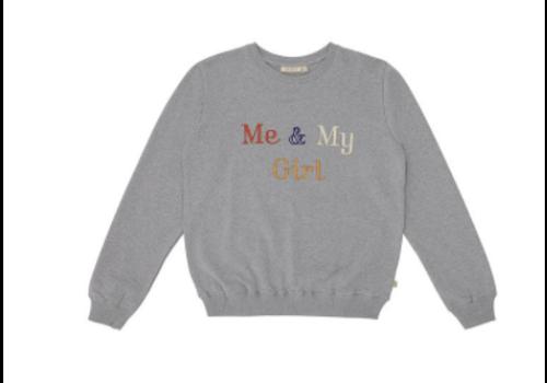 Soft Gallery Drew Sweatshirt Grey Melange, My Girl