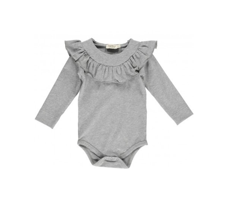 Bibbi, Jersey Body ,Grey Melange