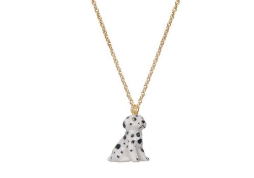 A Weathered Penny Miniature Spotty Dog - Chain