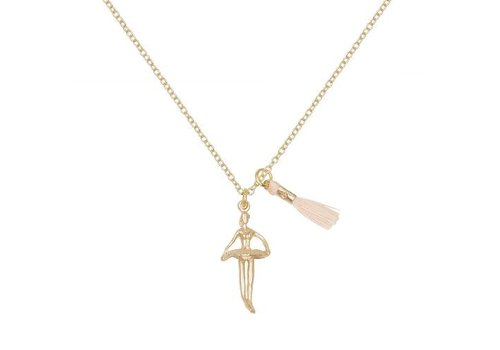 A Weathered Penny Ballerina Gold - Chain