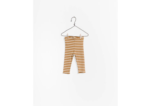 Play up Striped RIB Legging , R222B