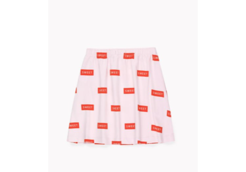 Tiny Cottons Sweet Short Skirt Pearl/Red