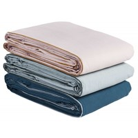 BED COVER SWANN BISCUIT  140 x 200 cm.