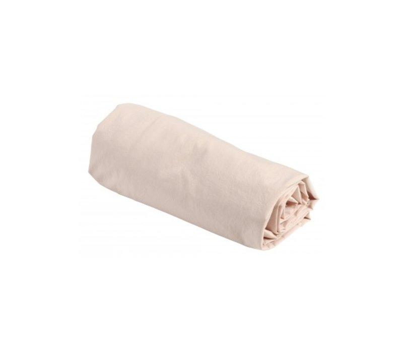FITTED SHEET BISCUIT 90 x 200 cm.
