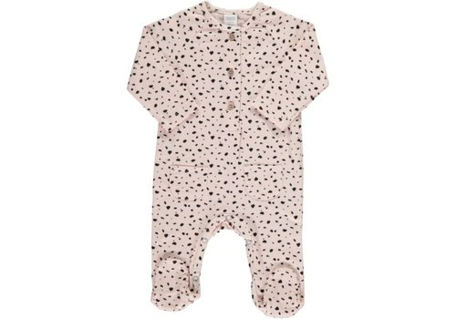 Beans Barcelona LIVORNO- Printed playsuit // PINK