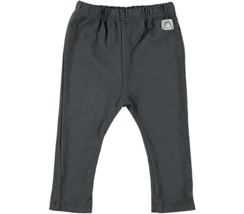 SALÓNICA-Cotonn leggings // ANTHRACITE