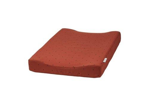 Liewood Fritz changing mat Classic dot rusty
