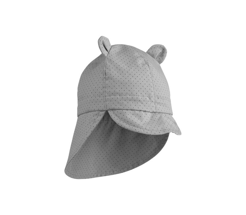 Gorm sun hat Little dot dumbo grey