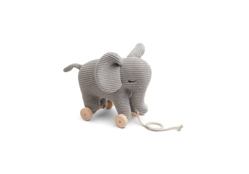 Liewood Dahlia teddy on wheels Elephant grey melange