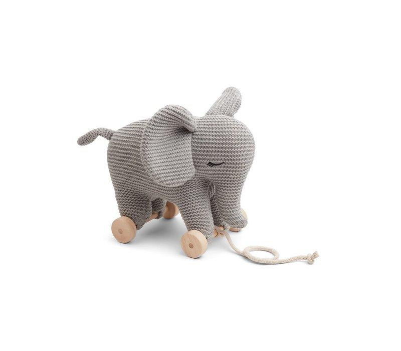Dahlia teddy on wheels Elephant grey melange
