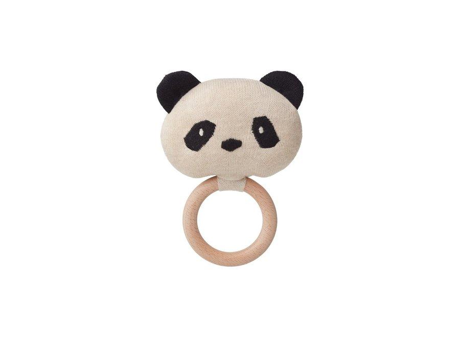 Aria rattle Panda beige beauty