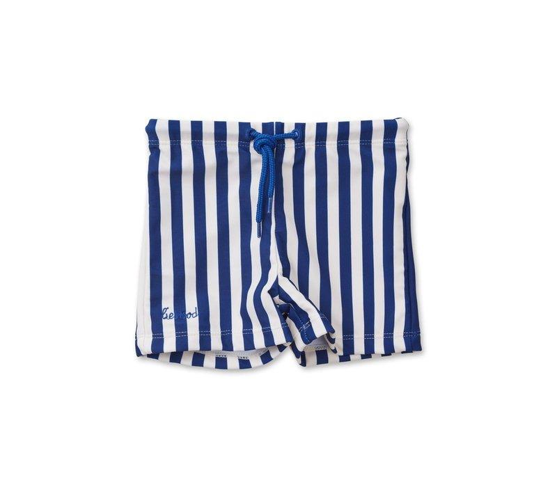 Otto swim pants  Stripe: Navy/Creme de la creme
