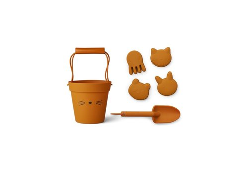 Liewood Dante beach set  Cat mustard