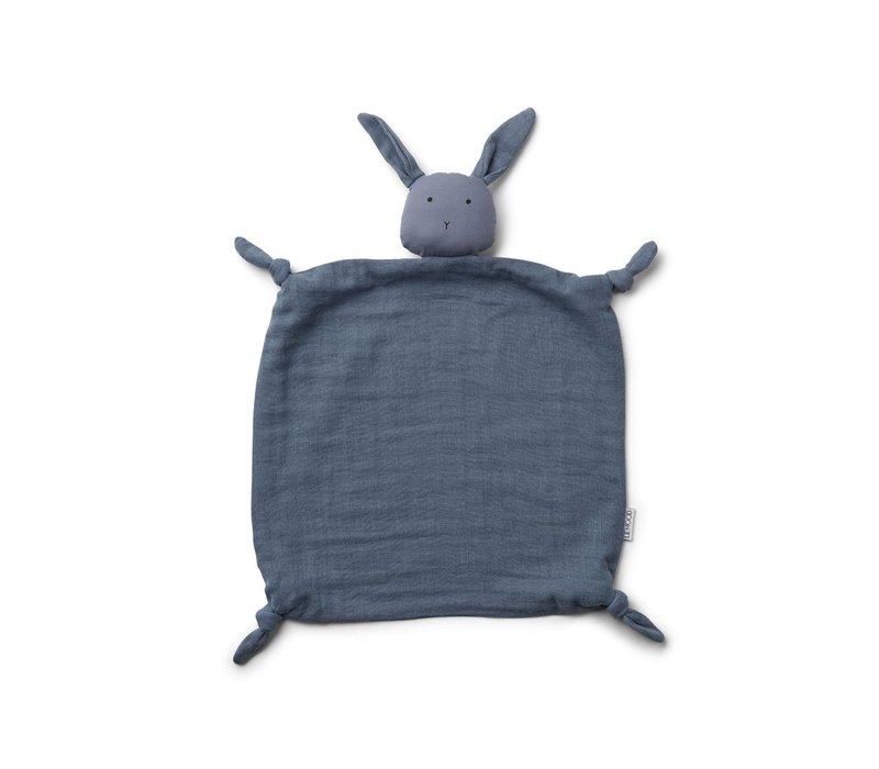 Agnete cuddle cloth Rabbit blue wave