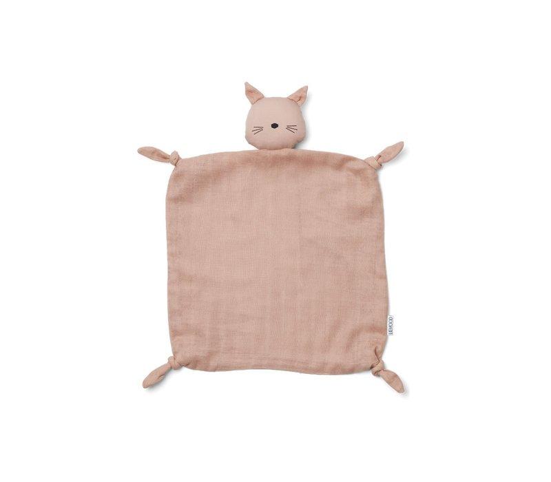 Agnete cuddle cloth Cat rose