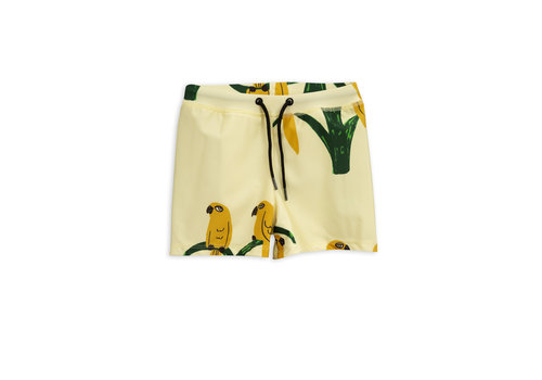 Mini Rodini Parrot swimpants Offwhite