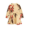 Mini Rodini Parrot aop dress Red