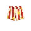 Mini Rodini Sun stripe aop shorts Red