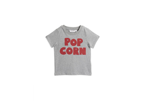 Mini Rodini Pop corn ss tee Grey melange