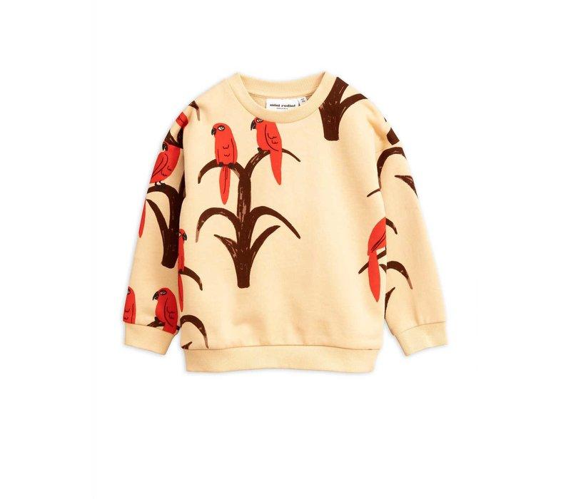 Parrot aop sweatshirt Red