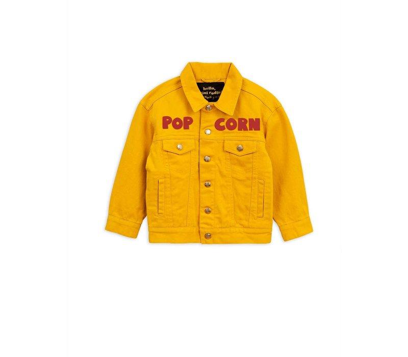 Twill jacket Yellow