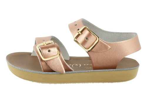 Saltwater Sandals Seawee Rose Gold