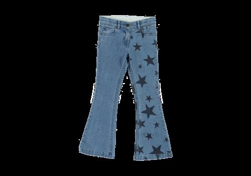 Stella McCartney Kids Denim Trousers Navy Stars