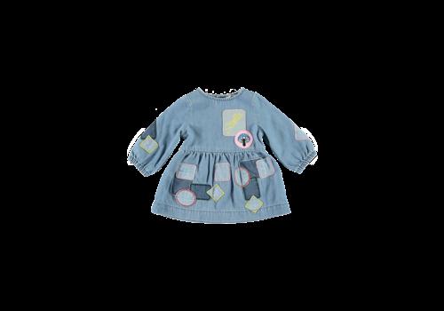 Stella McCartney Kids Woven Dress Light Denim
