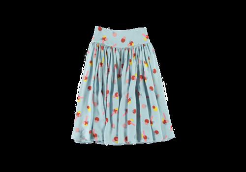 Stella McCartney Kids Skirt Flower Sticker Aqua