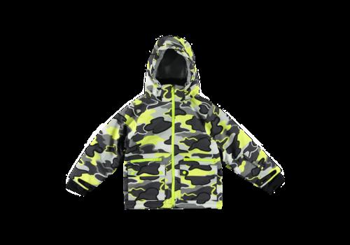 Stella McCartney Kids Ski Jacket Boy Camo Sport