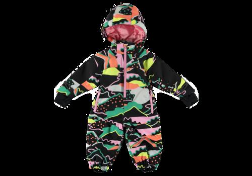 Stella McCartney Kids All In One Ski Baby Landscape Print Unis