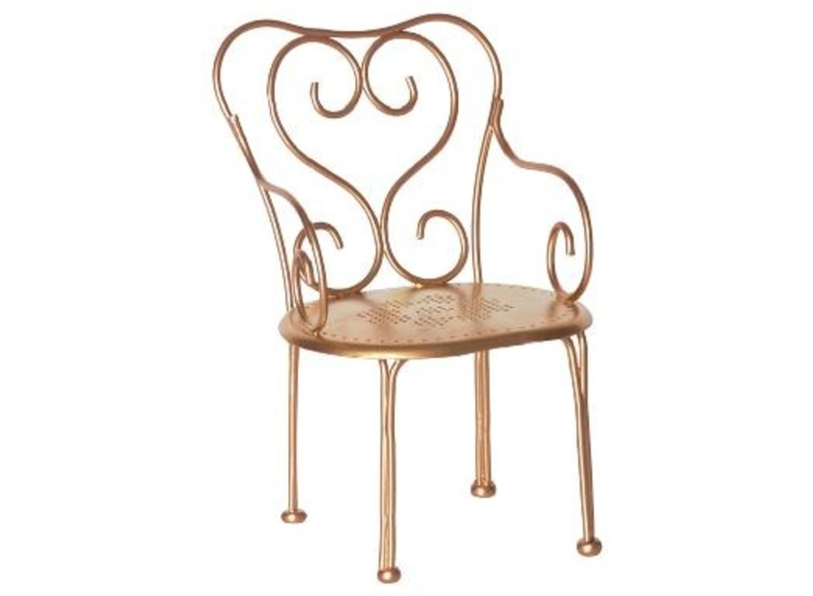 Gold vintage chair