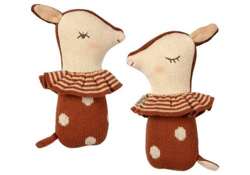 Maileg Bambi rattle - Rusty