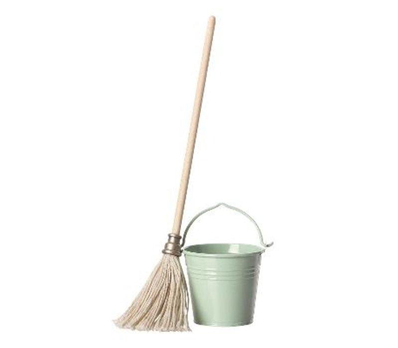 Bucket & Mop