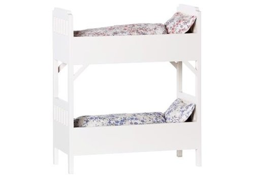 Maileg Bunk Bed, Small, Off white