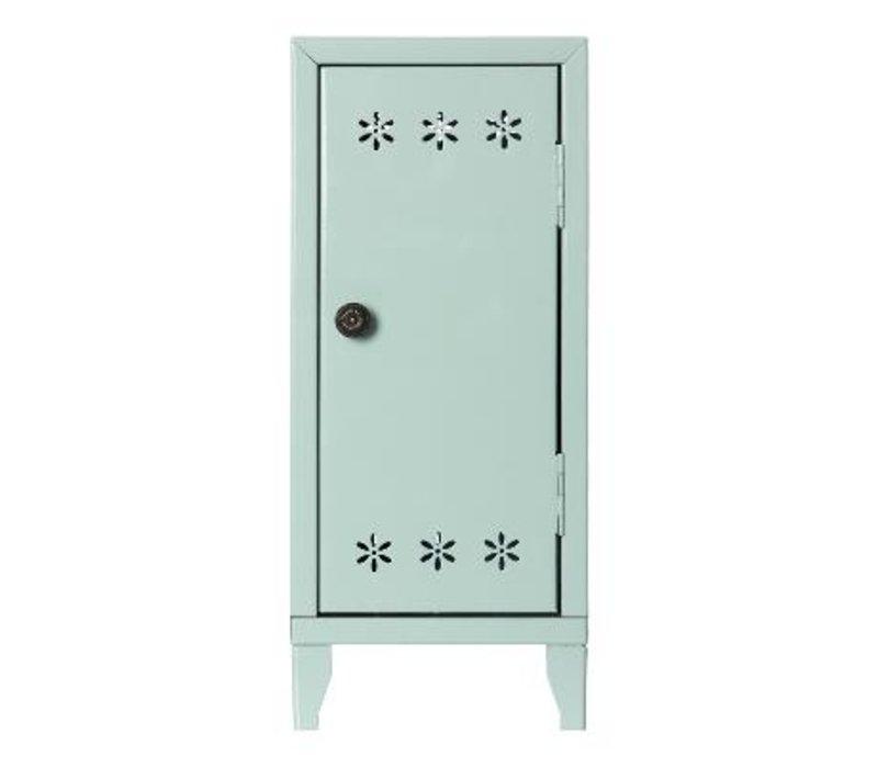 Locker w. 3 hangers, Green