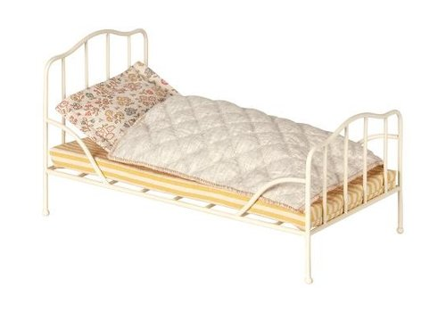 Maileg Vintage bed, Mini - Off white