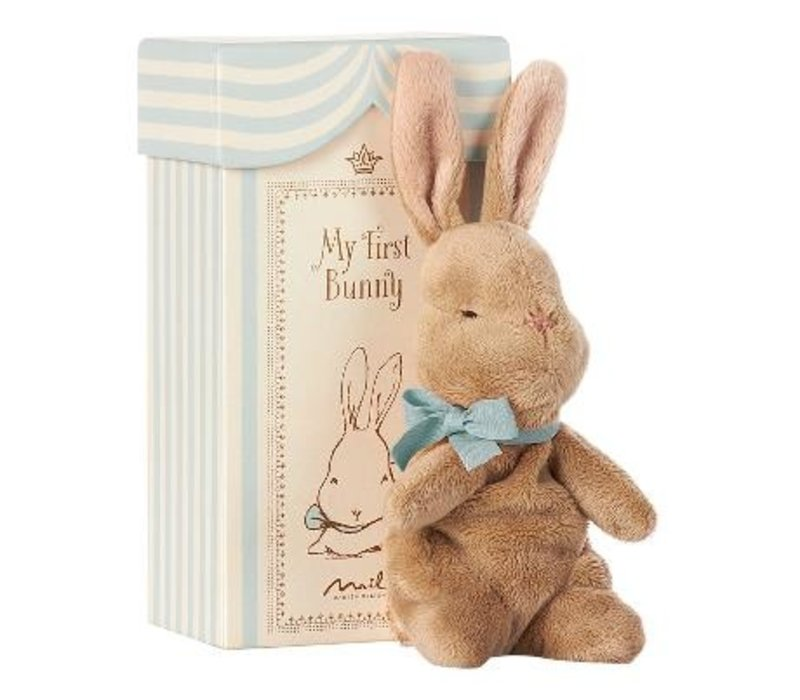 My First Bunny in Box, Blue