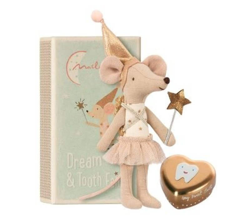 Tooth fairy, Big sister mouse w . metal box