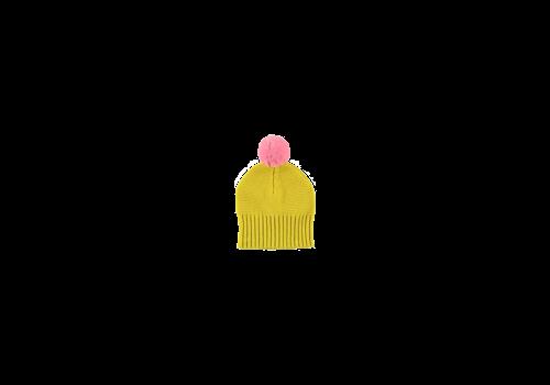 Stella McCartney Kids Knit Hat Mustard
