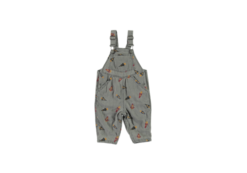 Stella McCartney Kids All In One Dungarees Embro Rockets On Gre