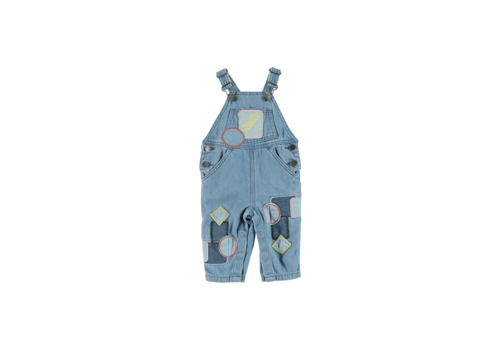 Stella McCartney Kids All In One Dungarees  Light Denim