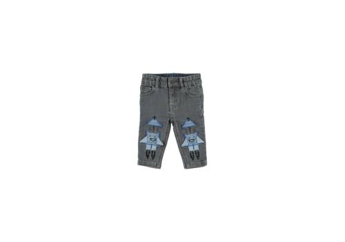 Stella McCartney Kids Denim Trs Grey Denim
