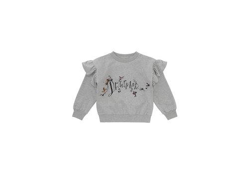 Soft Gallery Elesse Sweatshirt  Grey Melange, Dreamers