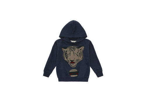 Soft Gallery Bowie Hoodie Blueberry, Tigerburger Terry