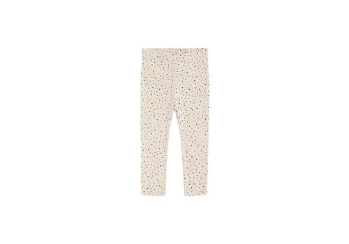 Soft Gallery Baby Paula Leggings Tapioca, AOP Trio Dotties