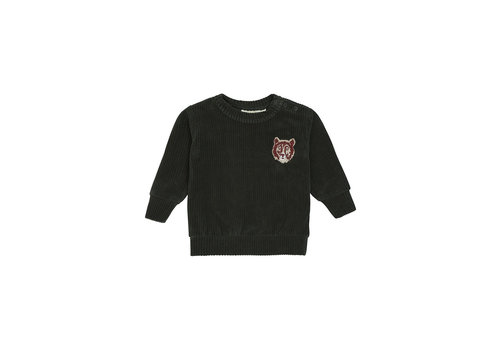 Soft Gallery Buzz Sweatshirt  Peat, Furrybear Emb.