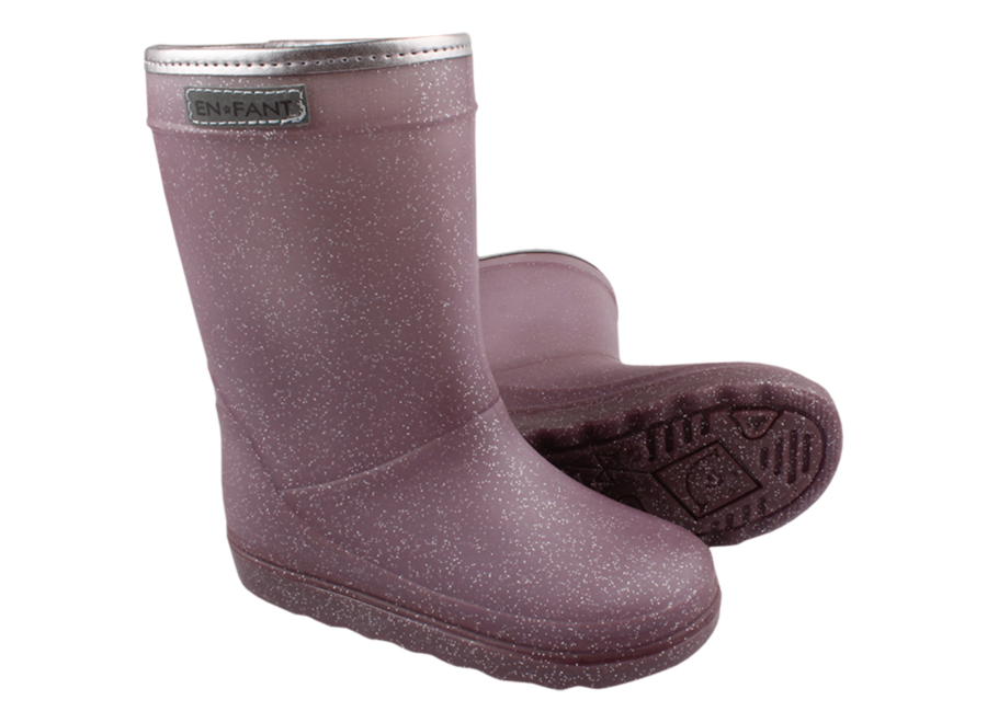 Thermo Boots Metallic purple