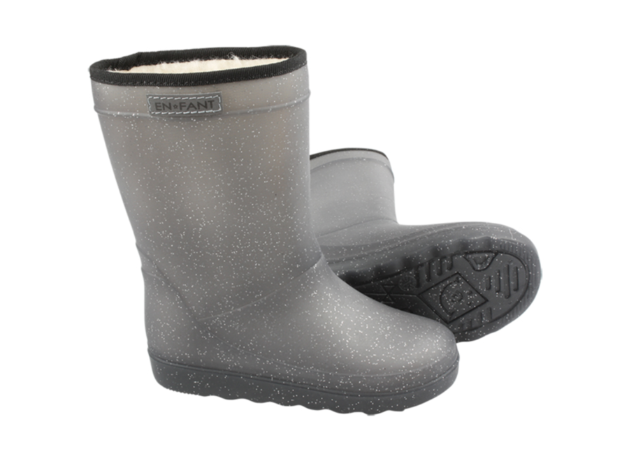 Thermo Boots Metallic grey