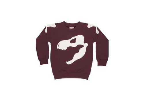 Wauw Capow by BANGBANG Copenhagen Scary Skull Sweatshirt
